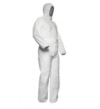 Traje de protección blanco