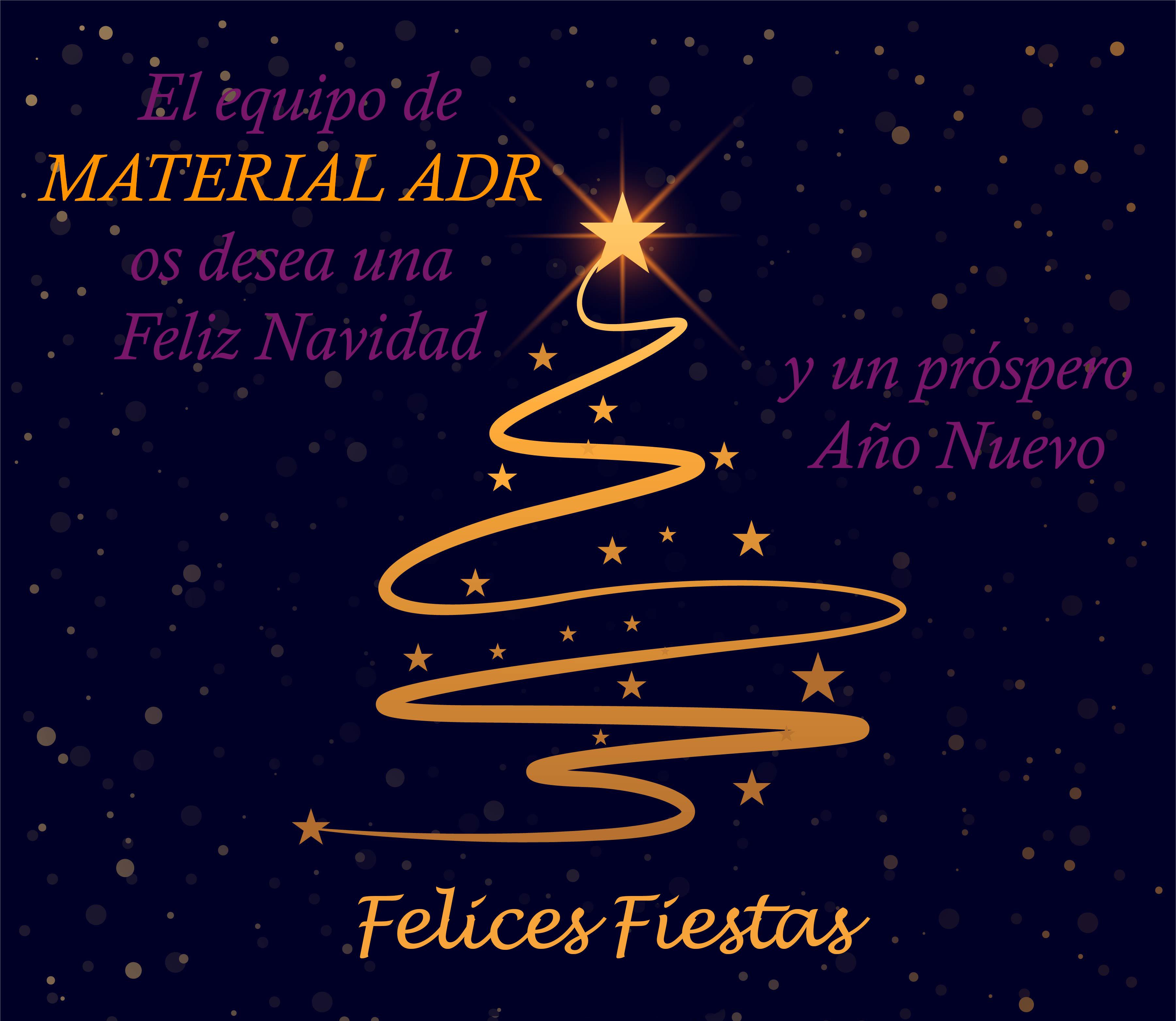 ¡Felices Fiestas! – Material ADR