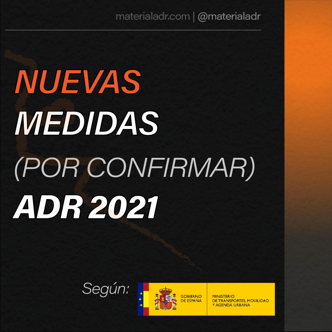 NUEVAS MEDIDAS ADR 2021 (POR CONFIRMAR)